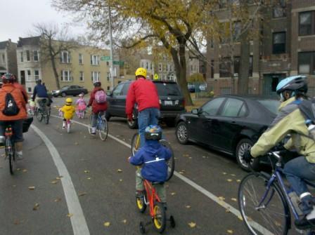 Bike With Kids Bike Winter